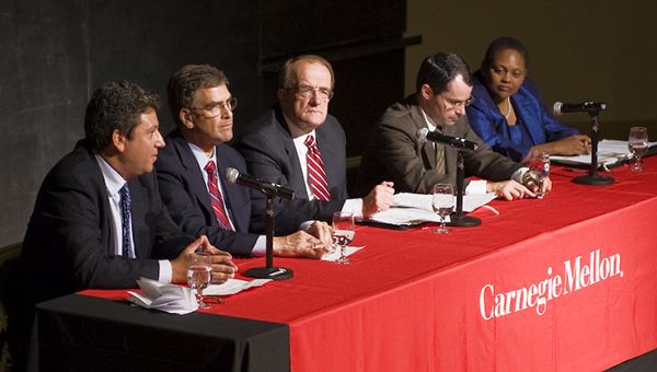 G20 Panel Speakers at Carnegie Mellon