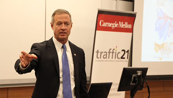Martin O'Malley Presents on Transportation