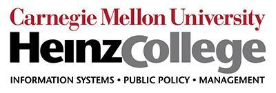 Carnegie Mellon University's Heinz College - Public Policy