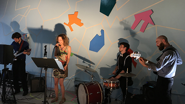 Students Perform a Concert at Future Tenant Art Space